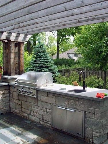 Top 50 Best Built In Grill Ideas - Outdoor Cooking Space ... on Built In Grill Backyard id=56744