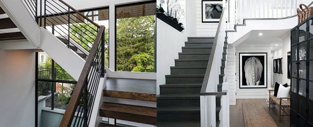 Top 50 Best Wood Stairs Ideas Wooden Staircase Designs   Best Wood For Indoor Stairs   Hardwood   Stair Parts   Stair Case   Glass   Red Oak