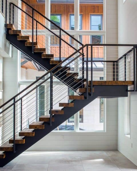 Top 50 Best Wood Stairs Ideas Wooden Staircase Designs | Iron And Wood Staircase | Traditional | Spiral | White | Internal | Cherry Wood