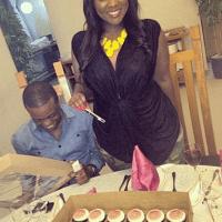 Photos :Toolz's Lover, Captain Tunde Demuren hosts pre-birthday surprise dinner for Toolz