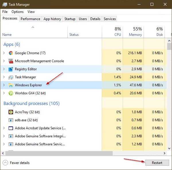image 16 600x593 - Windows 10 Tip: How To Show Seconds on Taskbar Clock