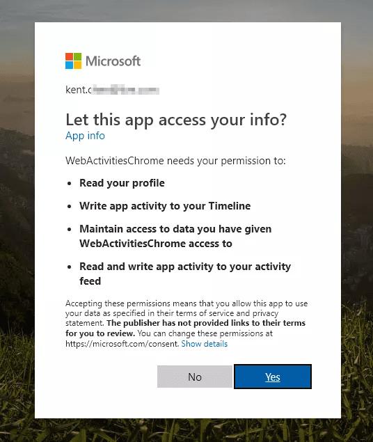 Windows 10 Timeline Extension for Google Chrome - Next of Windows