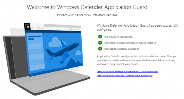 image 25 600x323 - Microsoft Brings Windows Defender Application Guard to Chrome and Firefox