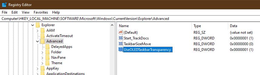 change wallpaper windows 10 registry