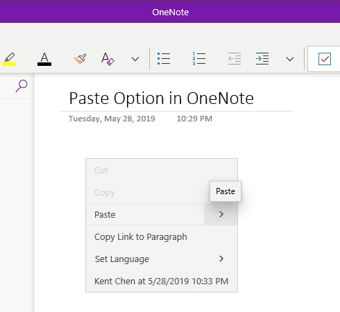 image 10 - OneNote Trick: How To Always Paste Plain Text