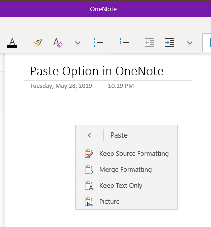 image 14 - OneNote Trick: How To Always Paste Plain Text