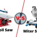 Scroll Saw vs Miter Saw