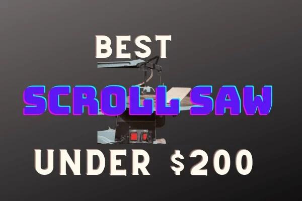 Scroll saw under $200