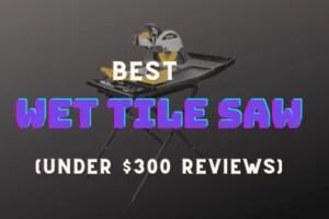 Wet Tile saw under 300 reviews