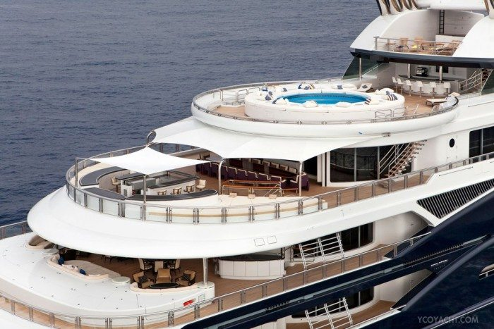 Take A Tour Of This 330 Million Yacht Bill Gates Rented