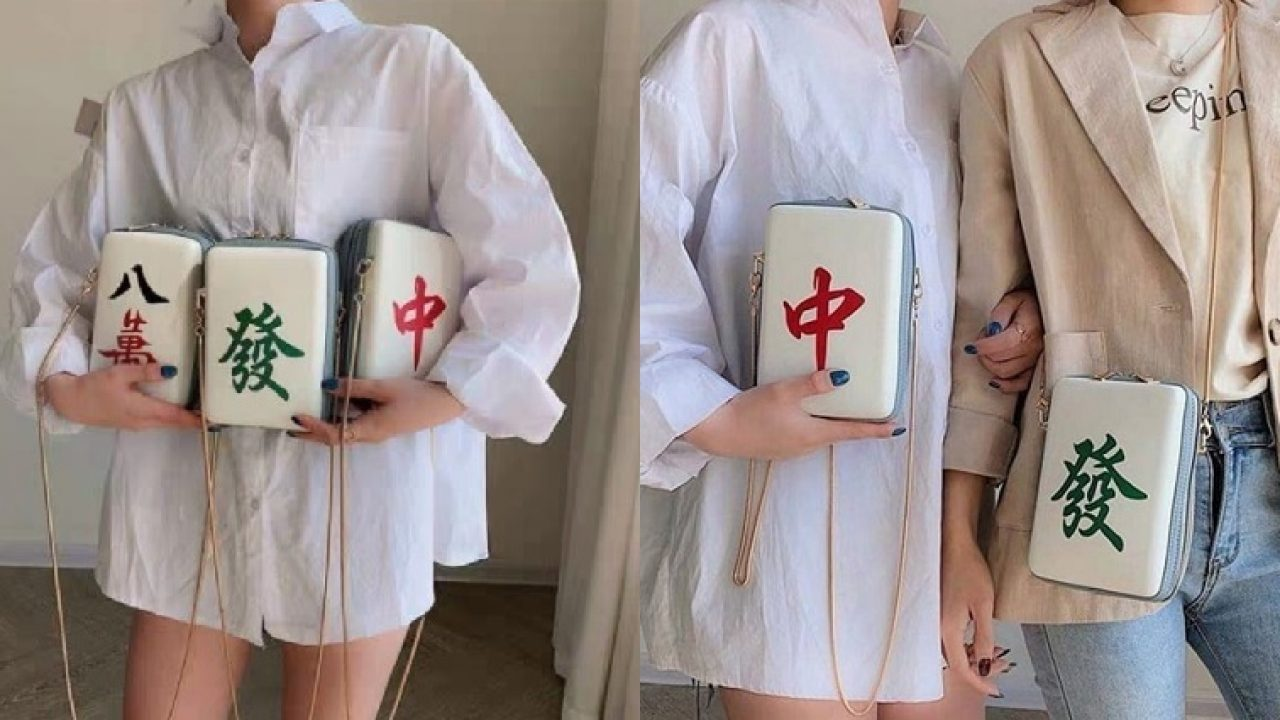 mahjong tile bags are perfect for