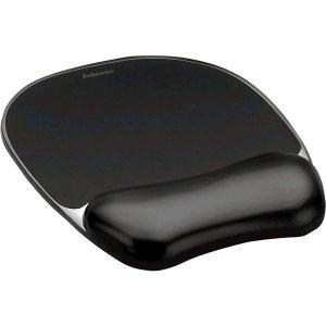 Fellowes Mouse pad με gel Μαύρο