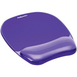 Fellowes Mouse pad με gel Μοβ