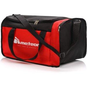 Meteor Sports Bag Κόκκινη - Μαύρη