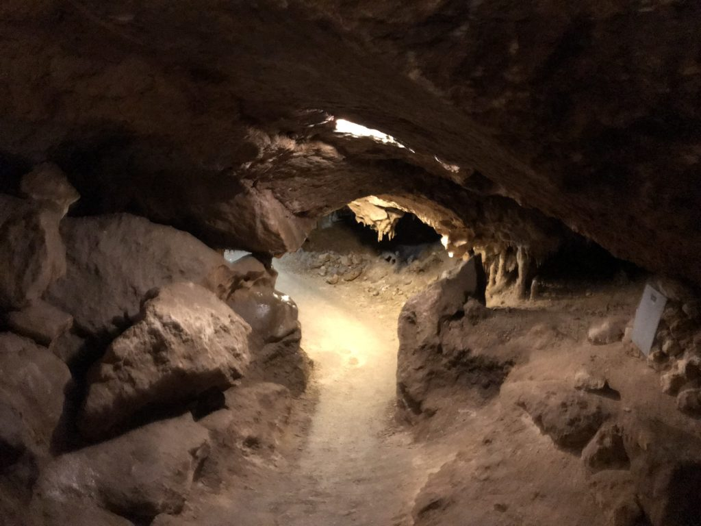 traveling to the Florida Caverns