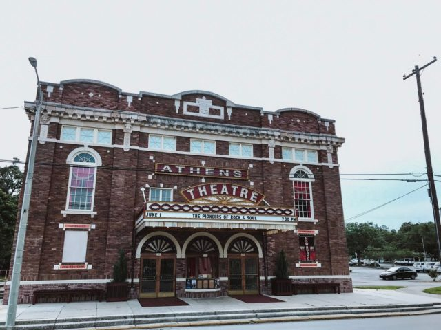 athens theatre in downtown deland historic district next stop adventures