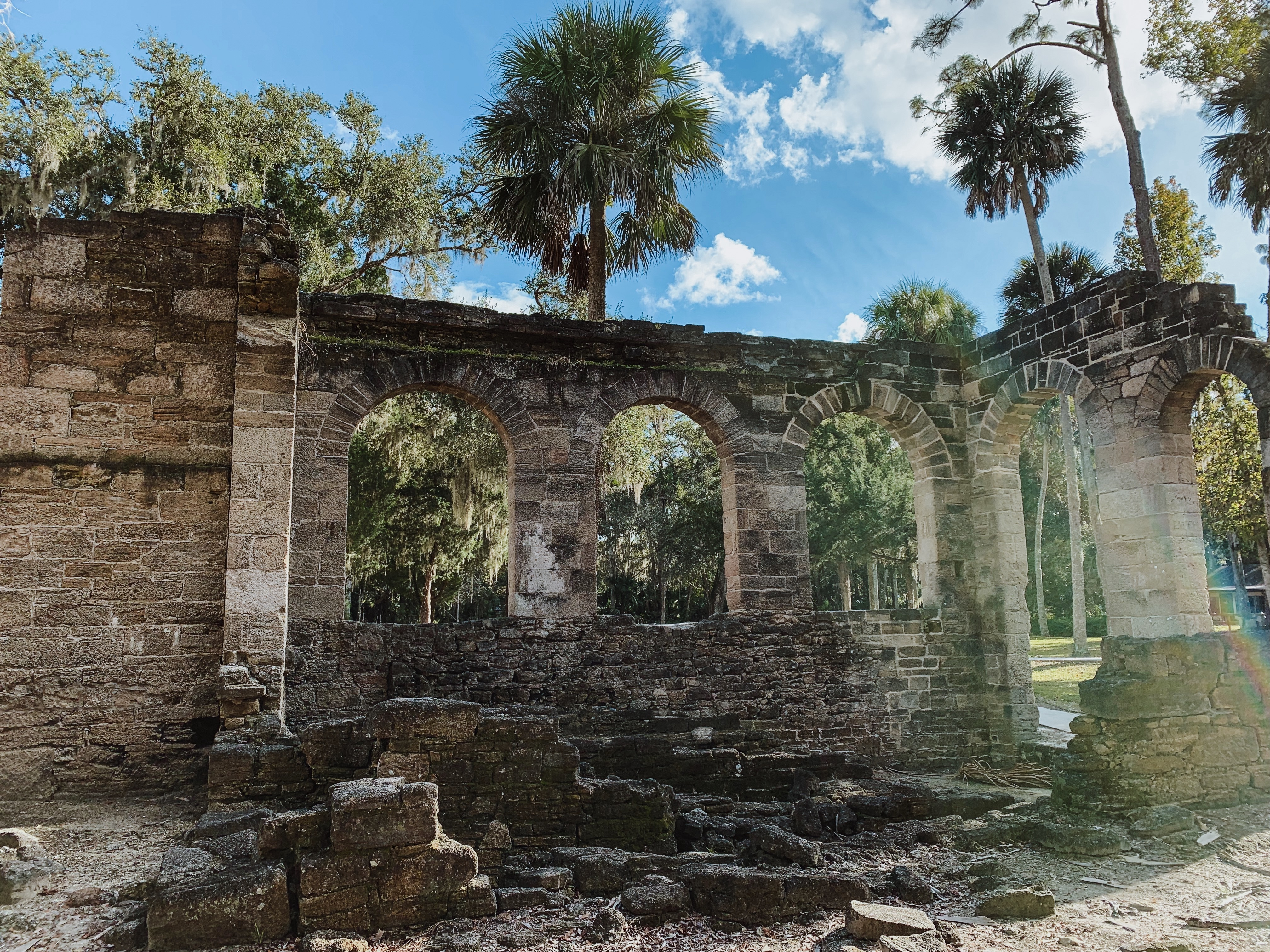 New Smyrna Beach Sugar Mill Plantation Ruins
