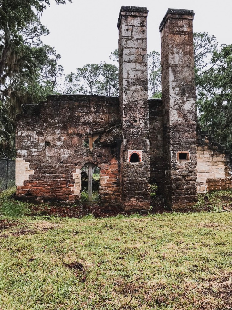 Dummit plantation mill ruins