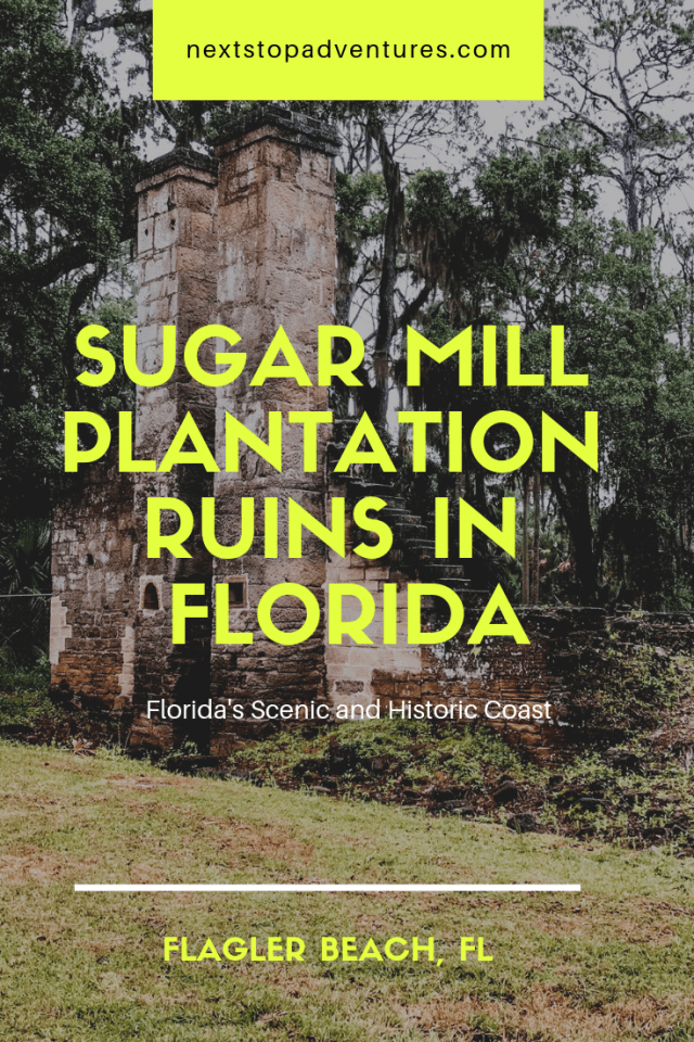 sugar mill plantation ruins in Florida