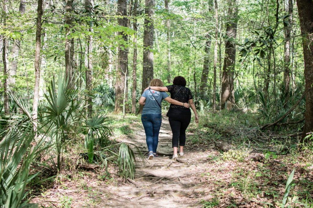 hiking in florida caverns state park