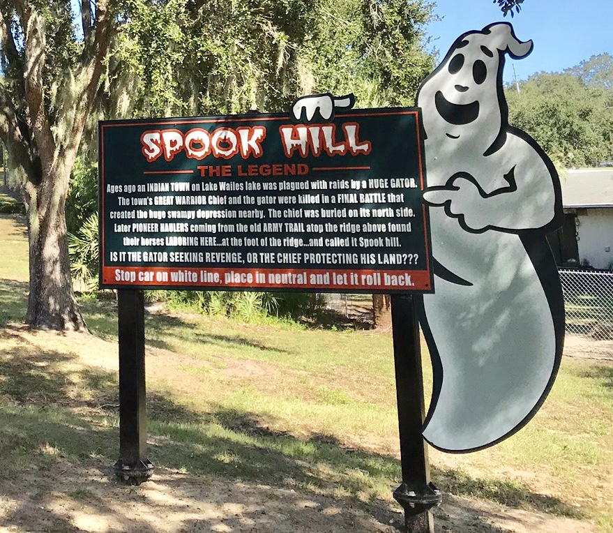 phenomena in lake wales - the legend of spook hill