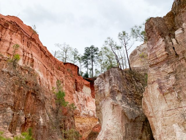 canyons in Georgia