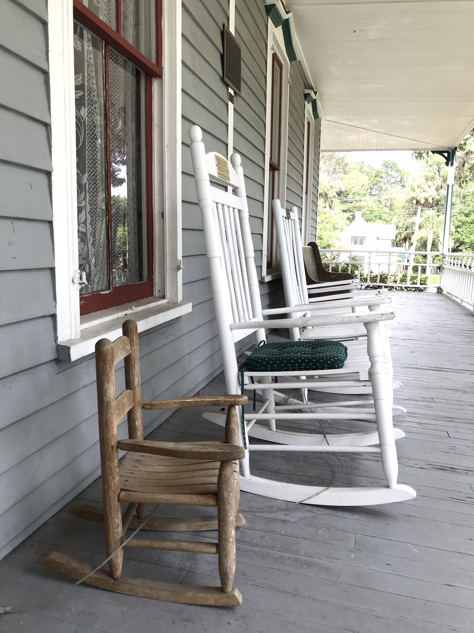 may stringer house balcony haunted places in Florida