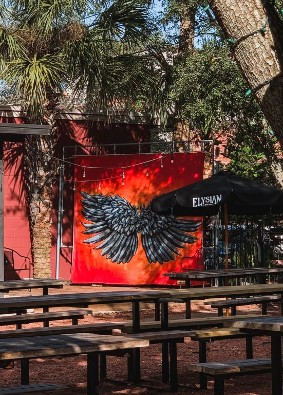 Wing City Sanford murals at Celery City Craft