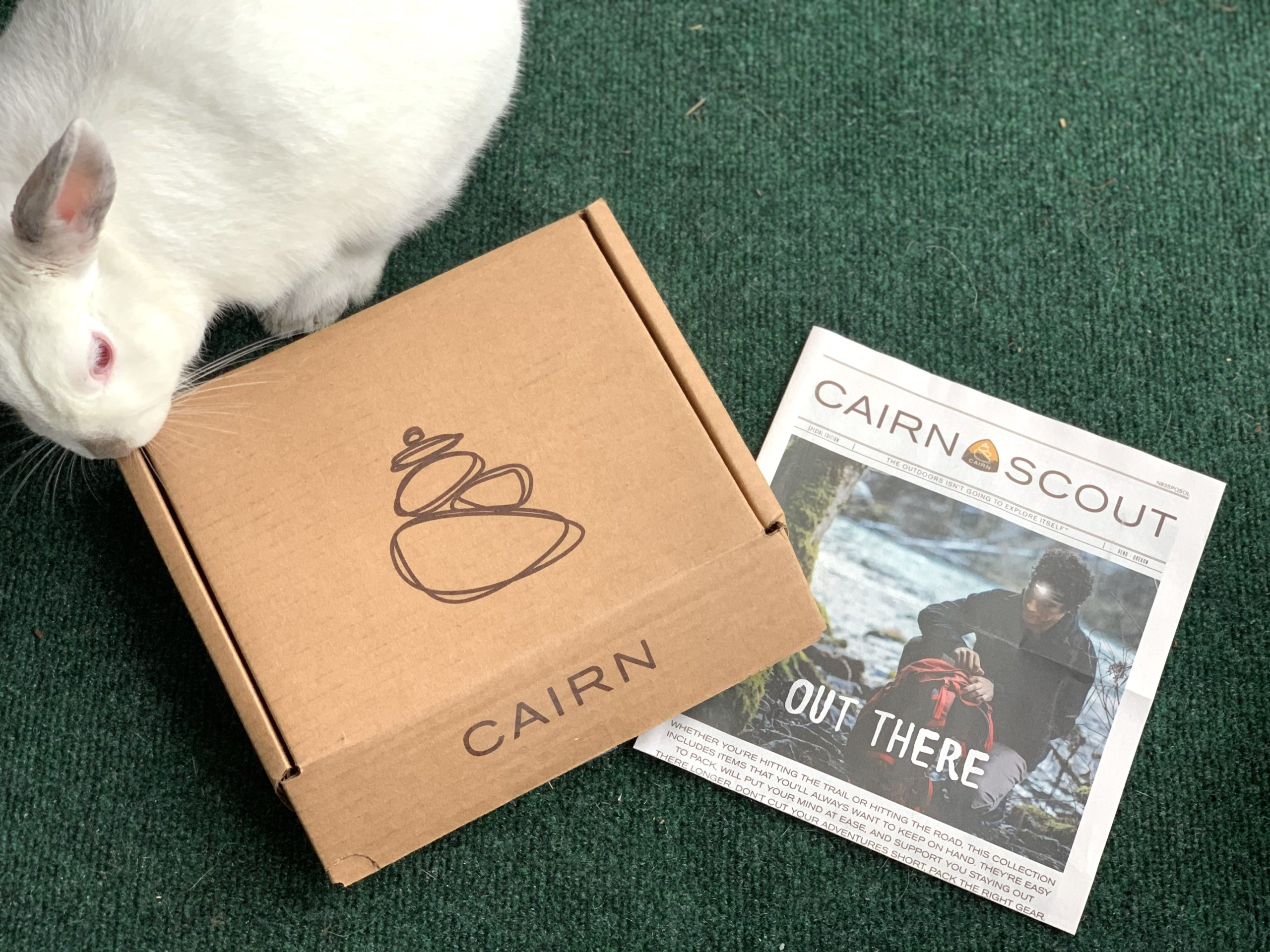 unboxing cain subscription box