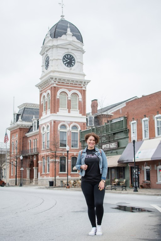 the Covington clock tower is one of the top things to do in Mystic Falls