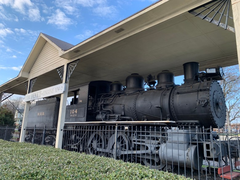 the train station at Olde Town Conyers