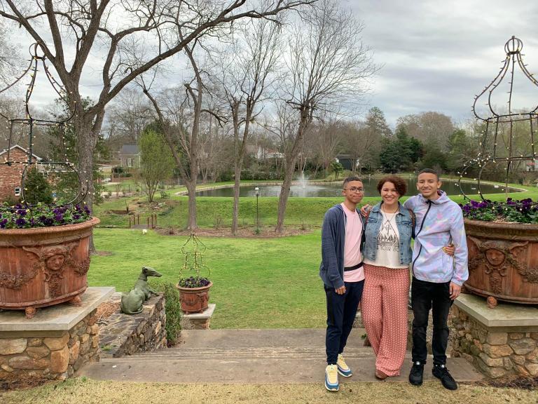 the Lockwood Mansion in Mystic Falls
