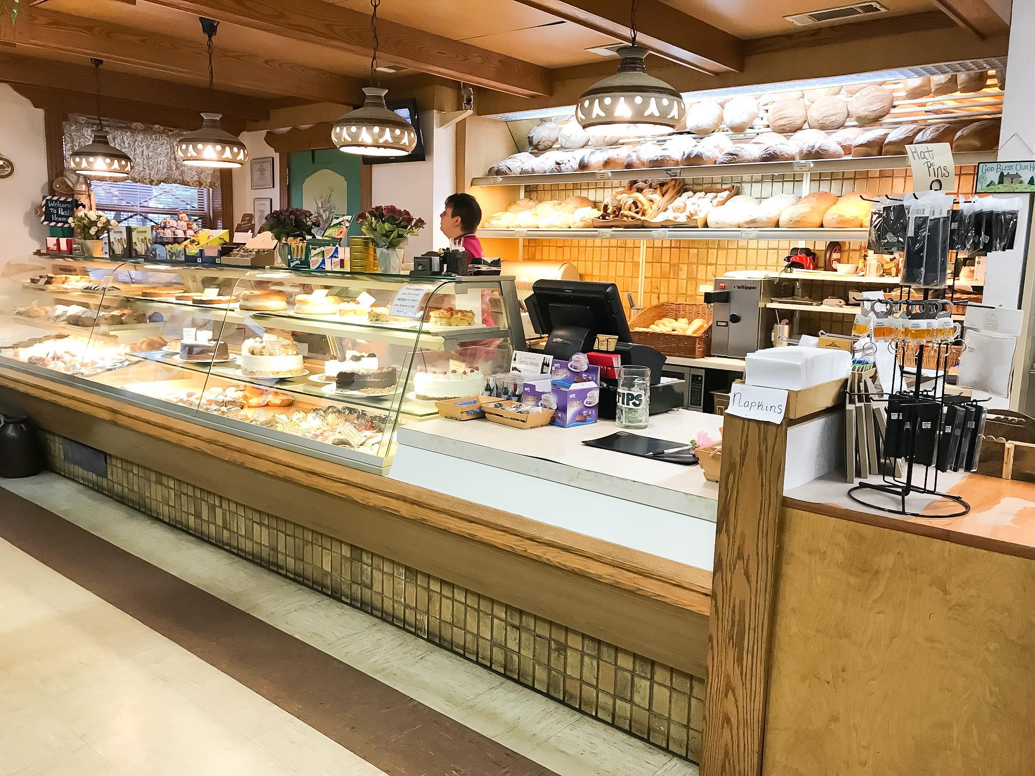 german bakery in bavarian town in georgia