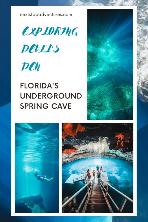 Exploring Florida's underground spring cave