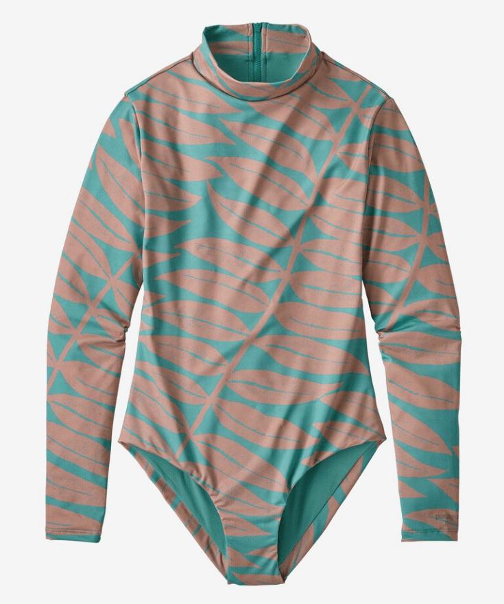 patagonia long sleeve bathing suit