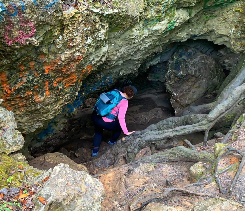 hike and explore dames cave
