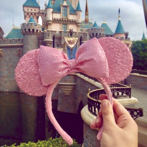 Trending Disney Items: Millennial Pink Minnie Ears