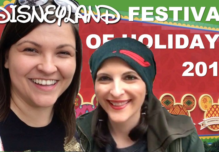 Disney Festival of Holidays Food Review – Part 1