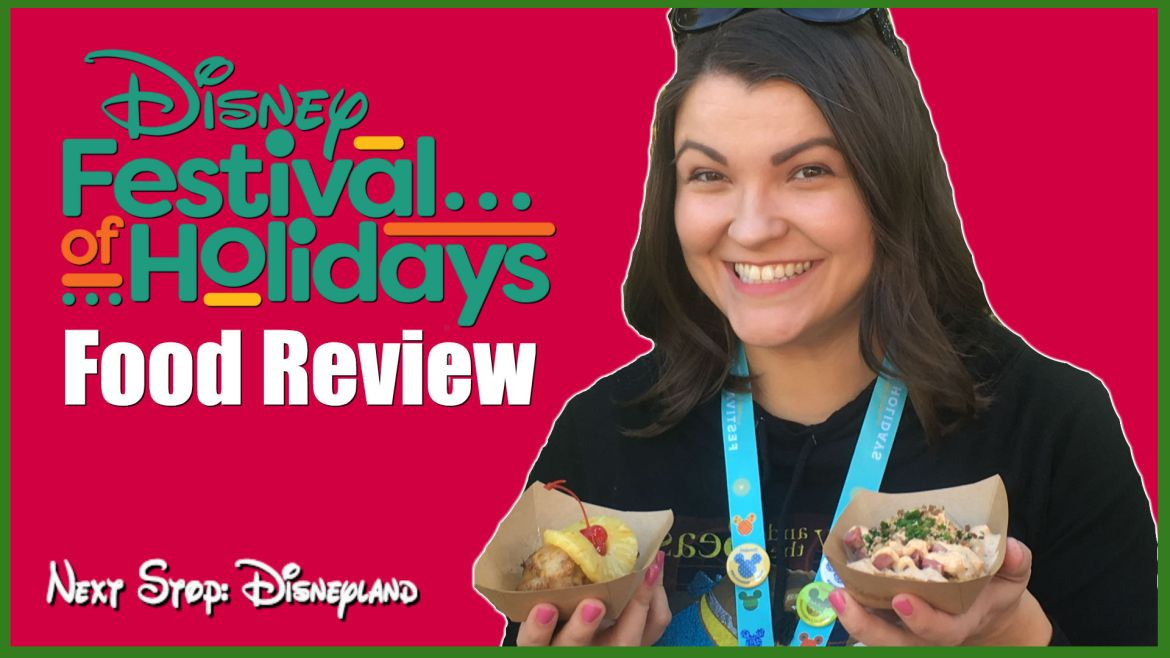 Dairy Free Disneyland, Festival Of Holidays – Part 2