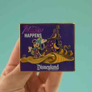 Disneyland Magic Happens Pin