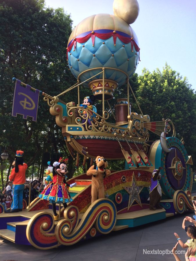 Disneyland Hong Kong parade