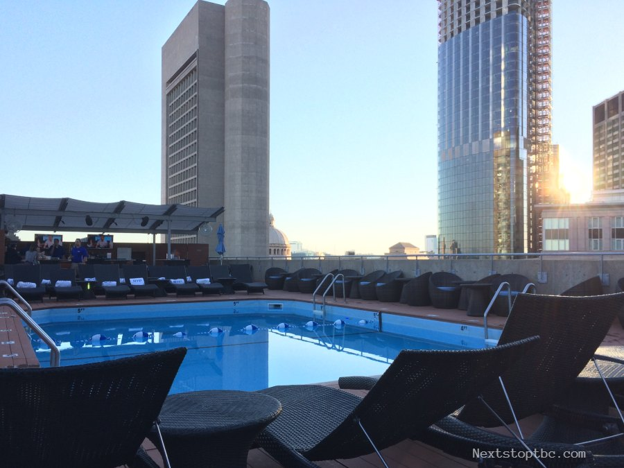 Collonnade Hotel Boston Rooftop Pool