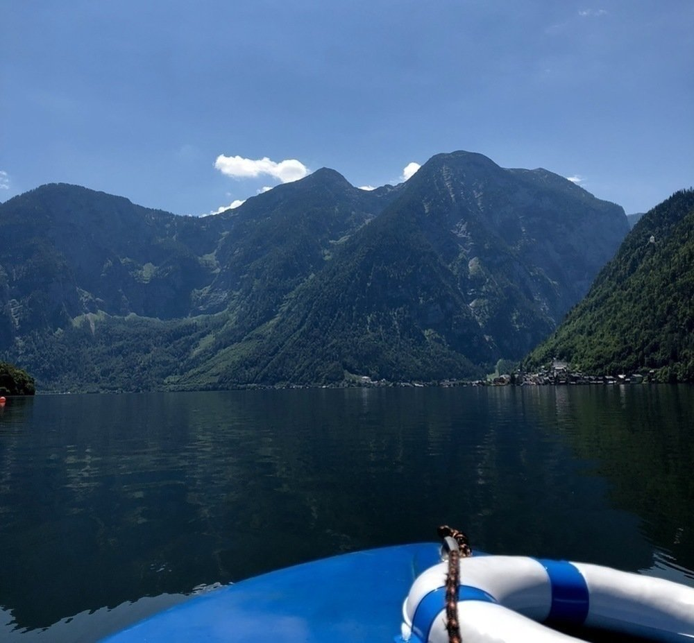 Boating Hallstatt
