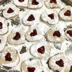 Martha Stewart's Linzer Heart Cookies