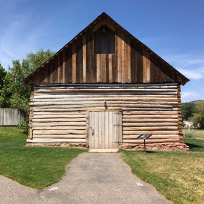 historic cabin in the town of Basalt