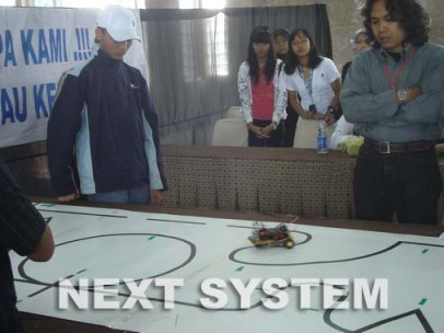 Lomba Kreasi Siswa 2009 - NEXT SYSTEM Robotics Learning Center