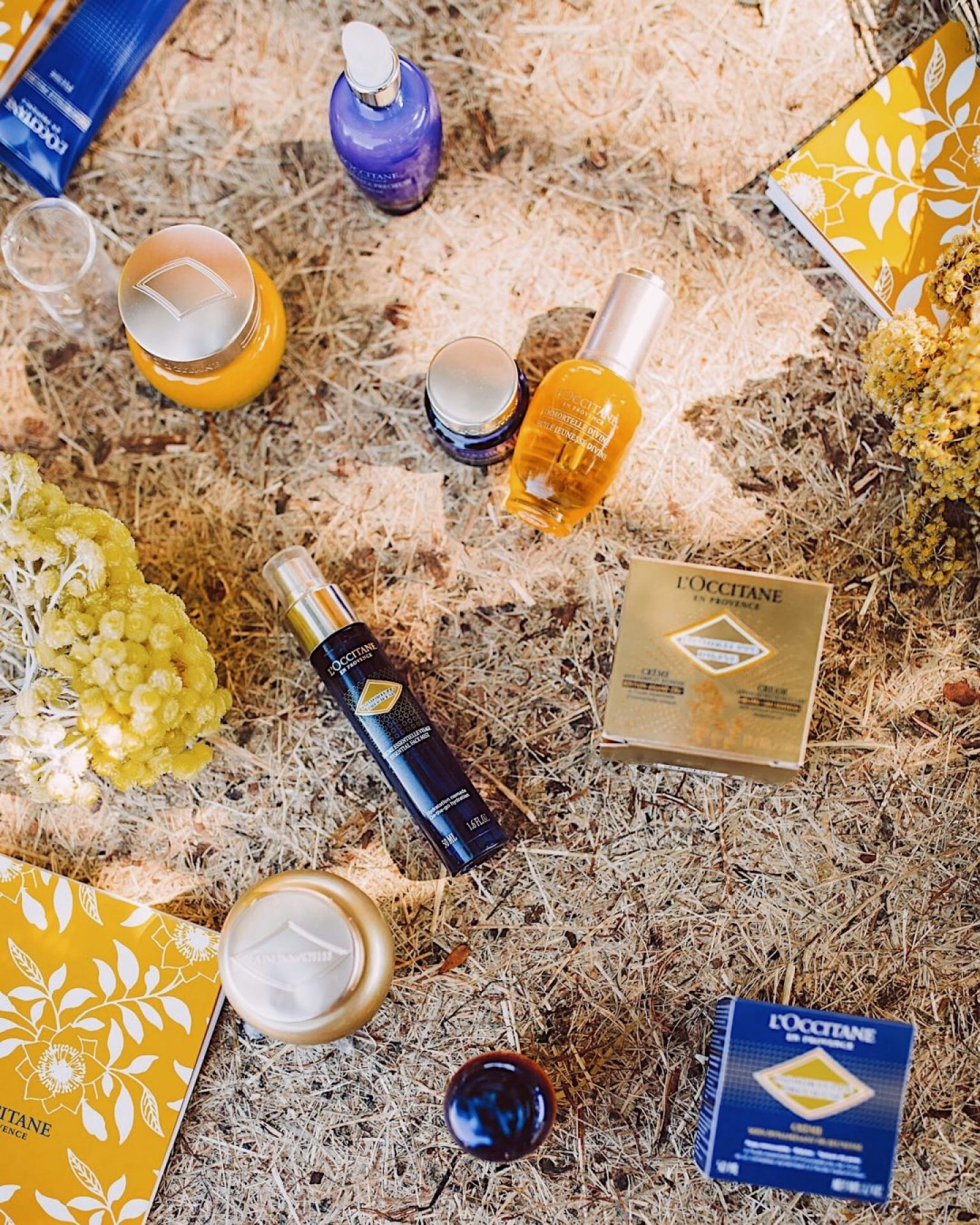 summer in Provence & Corsica with L'Occitane