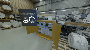 online induction software which replicates your workplace in a VR environment