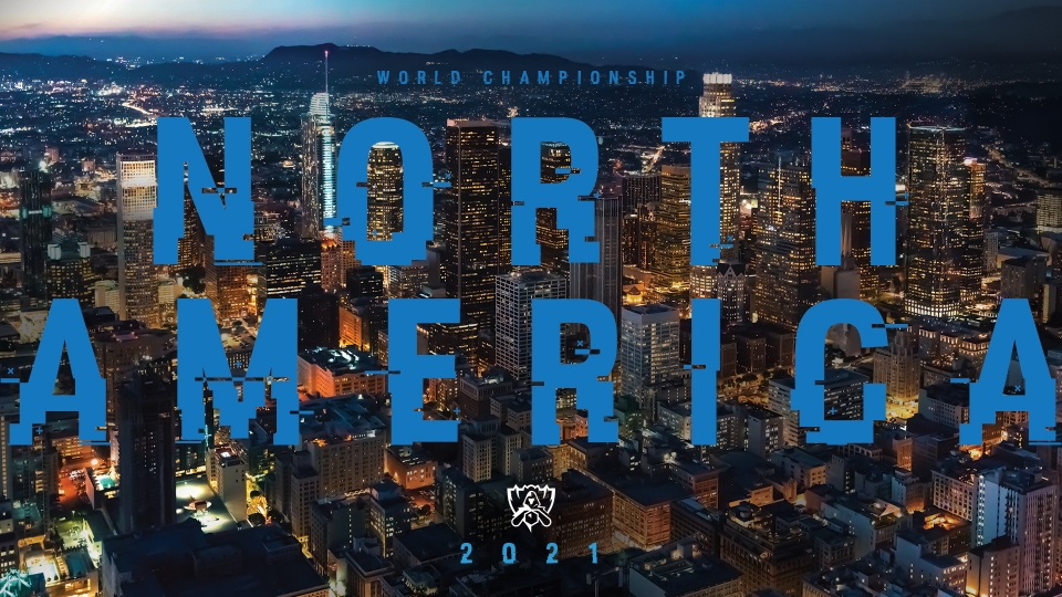 2019--2021 World Championship Host Regions -- League of Legends
