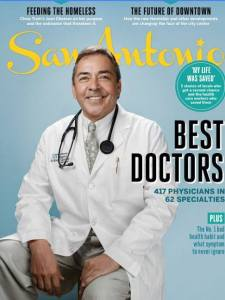 San Antonio Magazine Cover
